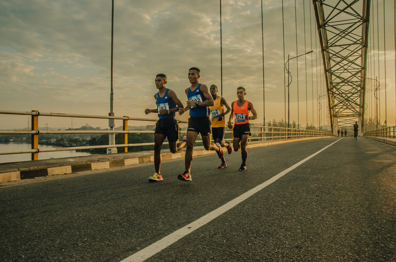 Börja löpa